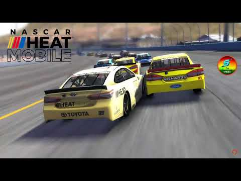 NASCAR Heat Mobile Career Mode!!!!