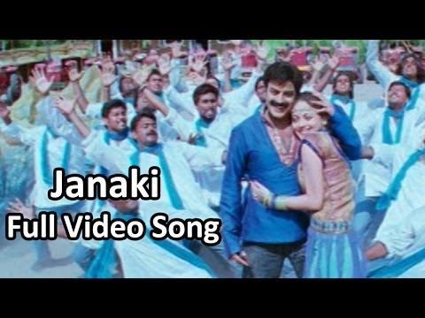 Janaki Full Video Song || Simha Movie || Bala Krishna,Nayantara