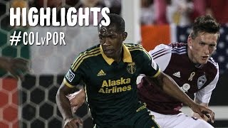 HIGHLIGHTS: Colorado Rapids vs. Portland Timbers   September 13, 2014