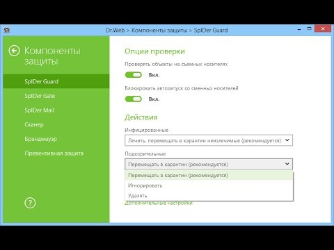 Тестирование Dr.Web Security Space 11.5 для Windows