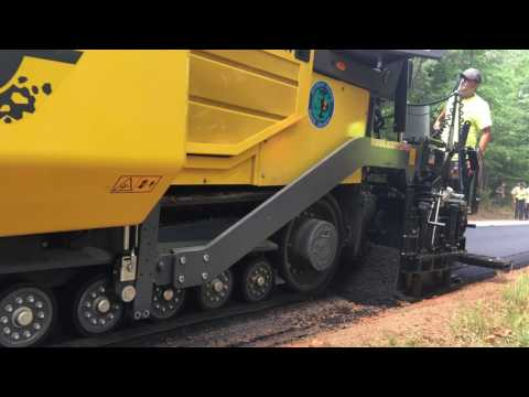 Dynapac F800T paving in SC