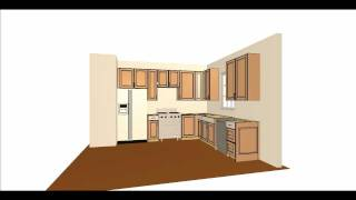 Simple Kitchen Layout