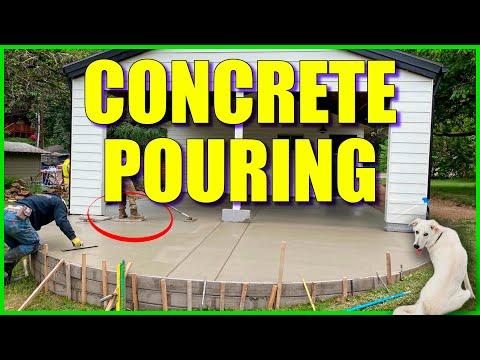 hqdefault - Concrete pouring - Concrete patio - Portland Or - Concrete Floor Pros