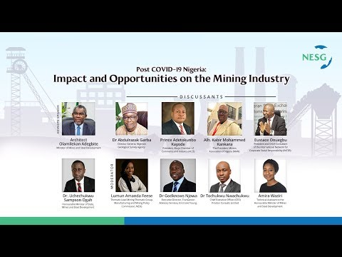 Impact and Opportunities on the Mining Industry - Post Covid-19 Nigeria