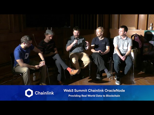 Chainlink Web3 Summit HackerNode: Providing Real World Data to Blockchain