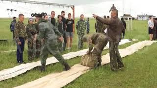 Строевая подготовка, прыжки с парашютом и работа с оружием