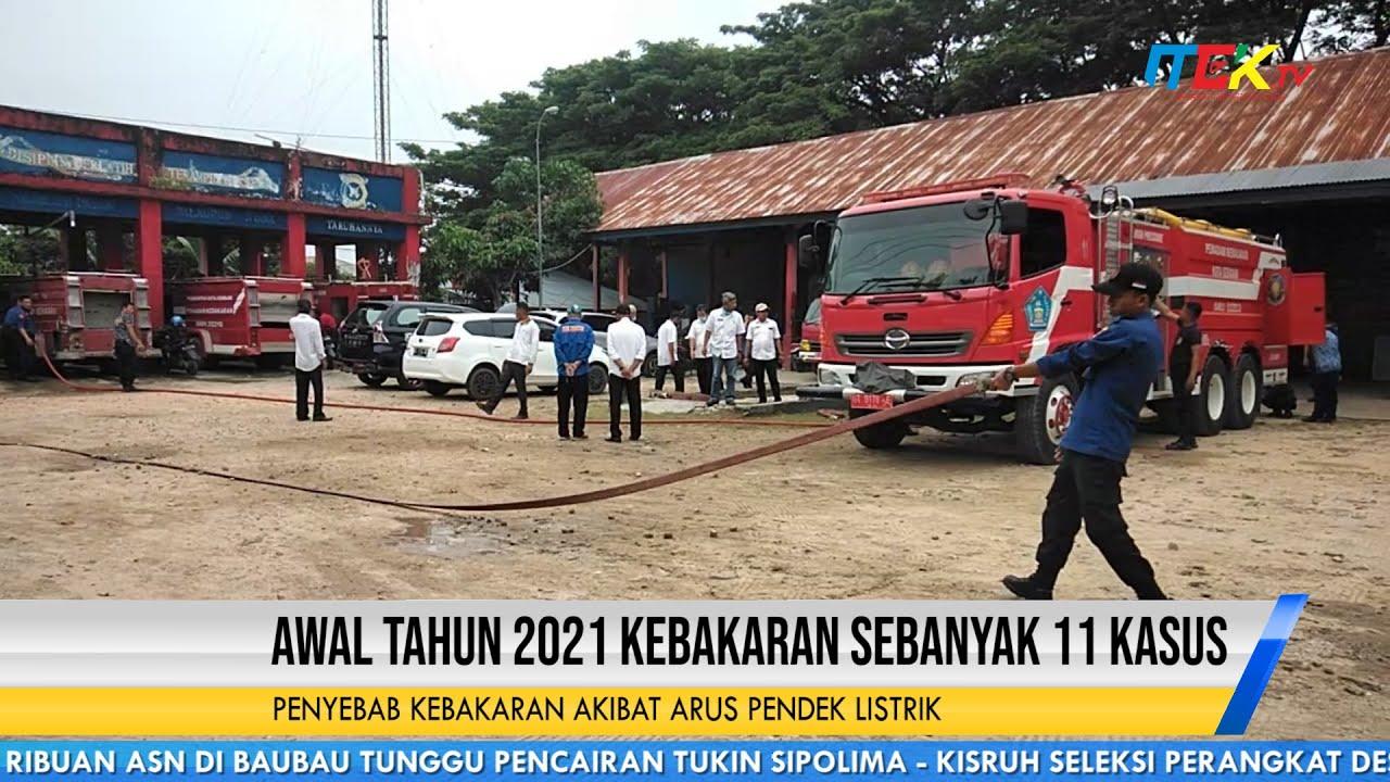 Awal Tahun 2021 Kebakaran Sebanyak 11 Kasus
