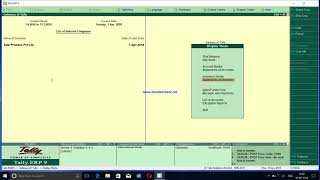 Sale order process in Tally ERP.9 (latest release 6.4.3)