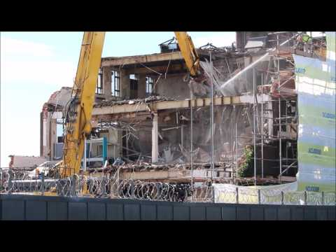 Ford Dagenham stamping and body plant Demolition part 10