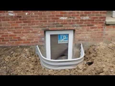 Installing Egress Window Well For A Legal Basement Bedroom   Ron Leffler Real Estate