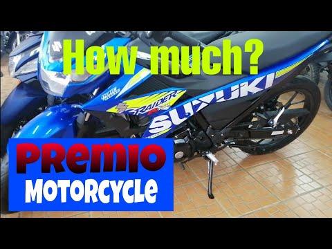 Honda,Kawasaki, Yamaha, Suzuki Motorcycle prices in the Philippines 2019