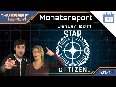 Star Citizen Monatsreport Januar 2017 | Verse Report [Deutsch/German]