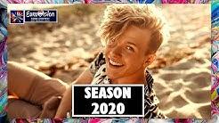 TOP 20   EUROVISION 2020 SEASON   SO FAR : 21/01/20   ESC 2020