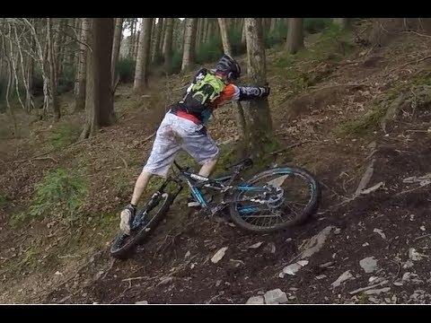 Mountain Biker fails 20 times!