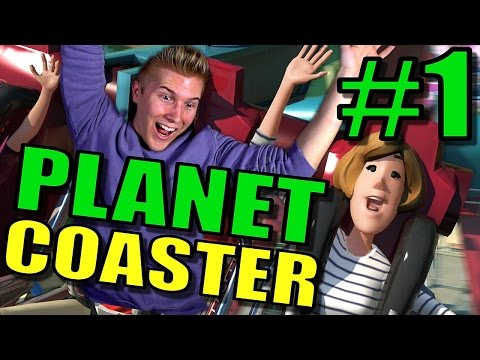 Planet Coaster Beta Gameplay: Ep / Part 1 | Planet Coaster Roller Coaster Theme Park Game