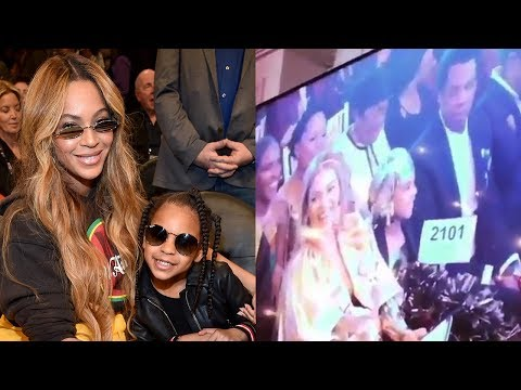 Blue Ivy Carter Bid $19K On Art At Auction With Beyonce & Jay Z