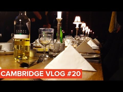 Cambridge Vlog 20 | Posh Dinner in Trinity College