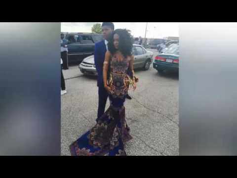 Teen Wears African Print to Prom, Hopes to Empower Girls of Color