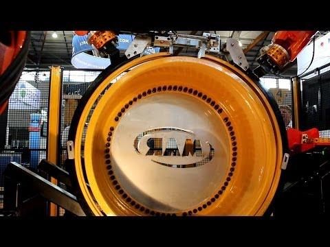 Robotic Tyre Change for Mining Dump Trucks