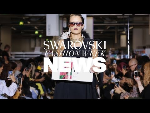 Crystal on the Catwalk: Swarovski Shines At PFW SS20