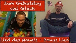 Zum Geburtstag viel Glück - Happy Birthday in German - Lied