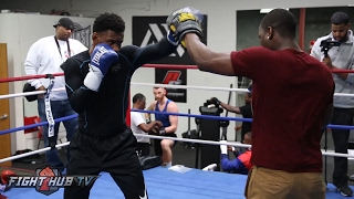 Golovkin vs. Jacobs- Daniel Jacobs' FULL Media Workout Video