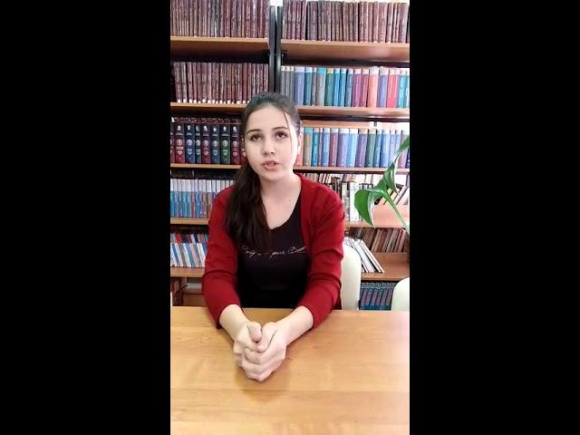 Изображение предпросмотра прочтения – АльбинаКурбанисмаилова читает произведение «Откуда веет тишиной» И.С.Тургенева