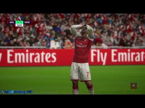 FIFA 18 || Arsenal vs Newcastle @ Emirates Stadium || (PS4 HD Gameplay)