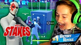 Fortnite High Stakes Victory Royale! *Grappler & New Skin Gameplay!*