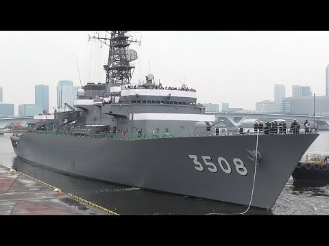 いろんな護衛艦・潜水艦などの入出港・航行シーン集