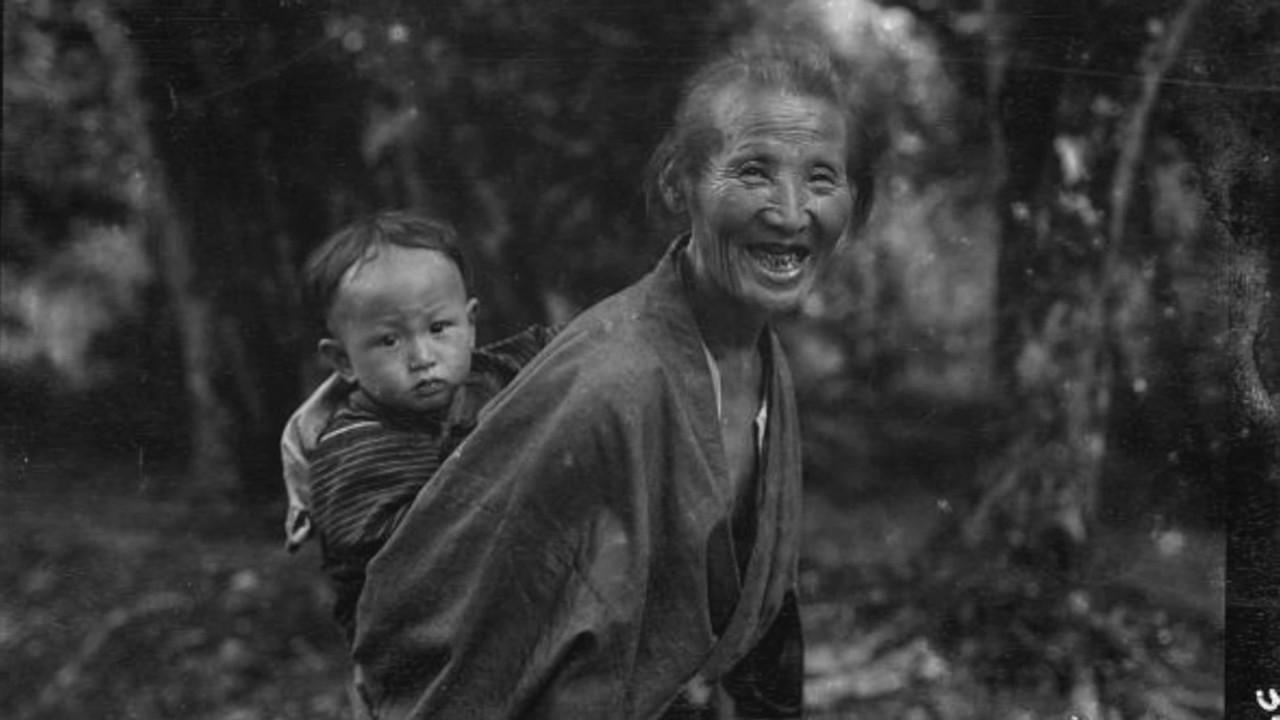 アーノルド・ジェンスが残した写真/1908年の日本 - YouTube