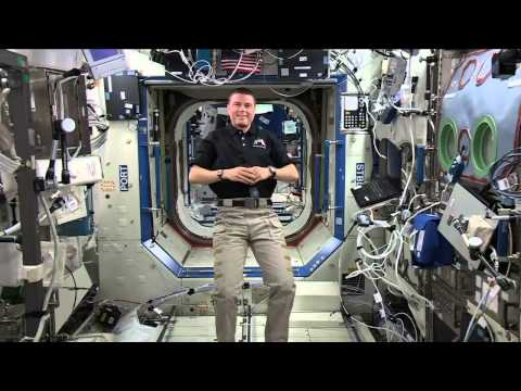 Space Station Crew Member Discusses His Mission and Upcoming Homecoming
