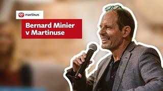 Bernard Minier v Martinuse (záznam z besedy)