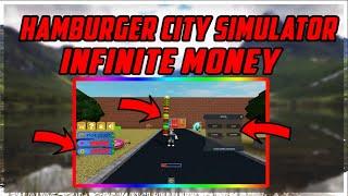 Roblox: Hamburger City Simulator STAT CHANGER AND INFINITE MONEY