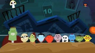 Pauroso - Dieci Nel letto   Numeri 1 a 10   dieci piccoli zombi   bambini Rima  Scary Ten In The Bed