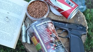 Пистолет Макарова МР-654К часть 2 - ТЕСТ