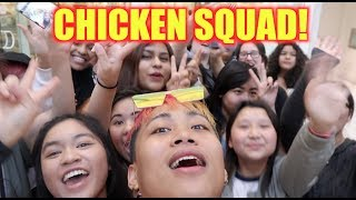 I ALMOST CRIED. MY CHICKEN SQUAD IS SUPER LIT #TOMODACHI