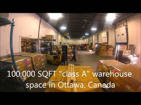 Ottawa Logistics Warehousing Fulfillment Timelapse #1