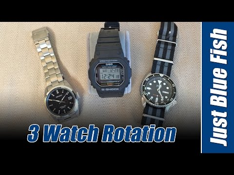 State of the Collection #2 - What's your 3 Watch Rotation?