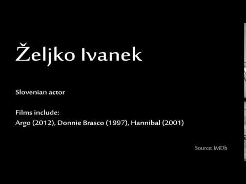 How to pronounce  Željko Ivanek