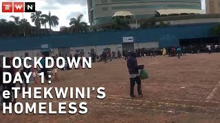 Homeless people in eThekwini have accused city officials of denying them food and making them sleep in unhygienic tents. Thousands gathered at the Durban Exhibition Centre on Friday morning awaiting a plan to take them to various temporary shelters within the municipality.  #COVID-19SA #CoronavirusSA #SAlockdown