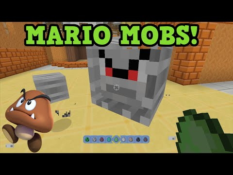 ALL Mario Mobs In Minecraft Wii U (& Skins)