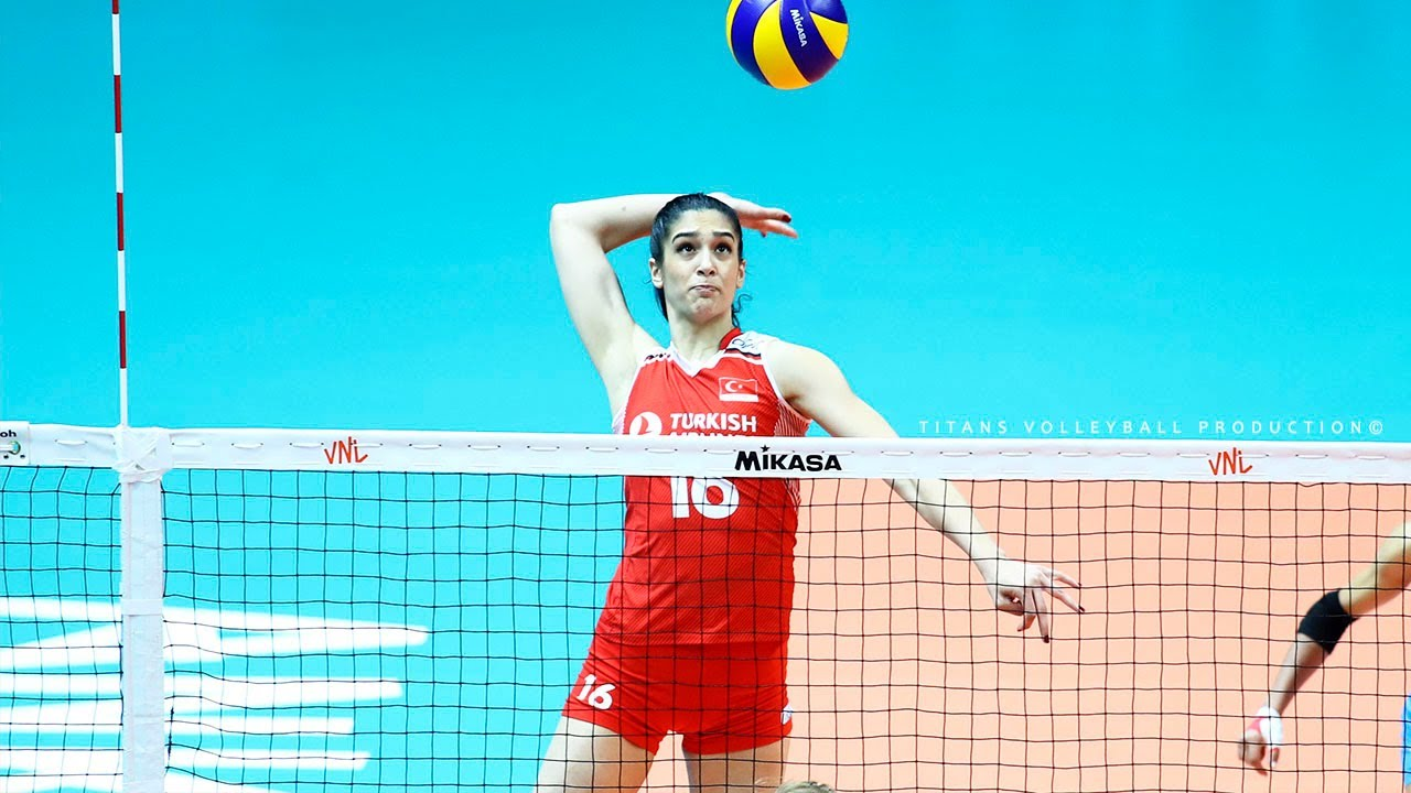 Yasemin Guveli - Best Volleyball Actions 2019-2020 | SPIKES | BLOCKS | DIGS |