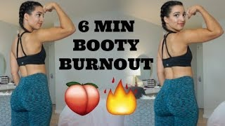 6 Min Booty Burnout   Resistance Band Only!