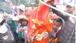 Dân cực đoan CPC Biểu tình đốt cờ chống Cộng Sản VN