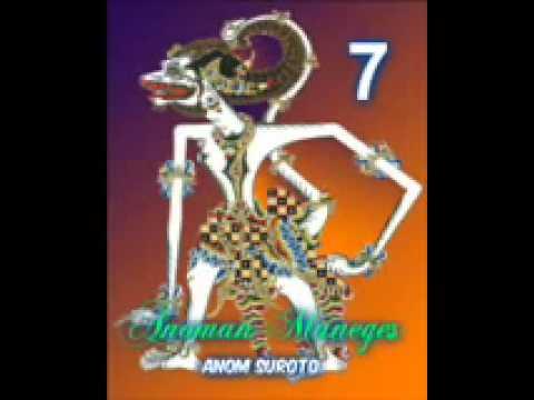 Wayang Kulit Dalang Kondang Anom Suroto Lakon ~ ANOMAN MANEGES Part 78