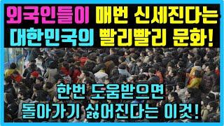 전세계 최고라고 소문난 대한민국 대표문화! 한국을 경험…