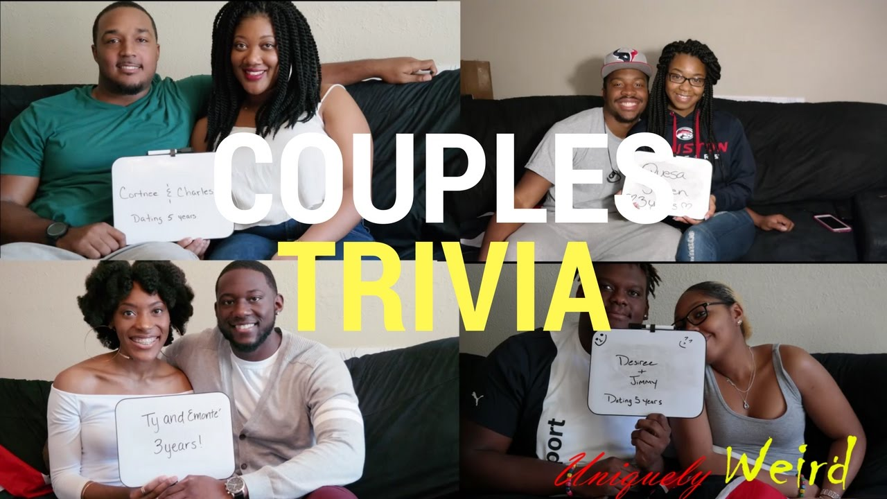 Uniquely Weird S Trivia Show How Well Do You Know Your Partner