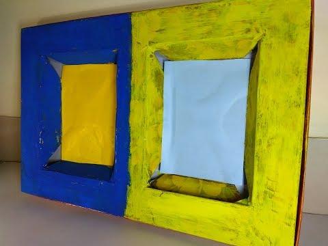 Modern Art Display Box for arts & Photos // Box shape Photo Frame // Dry Fruit Box Art