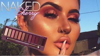 PINK CUT CREASE MAKEUP TUTORIAL - URBAN DECAY NAKED CHERRY | JAMIE GENEVIEVE